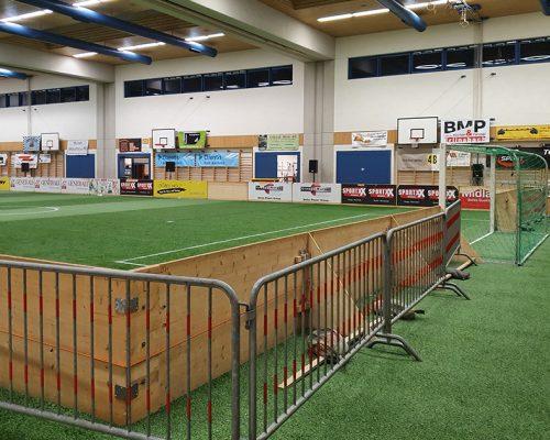 Indoor Fussball Banden